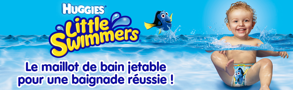 Huggies Little Swimmers Standard Taille 2 3 3 8 Kg X 12 Culottes