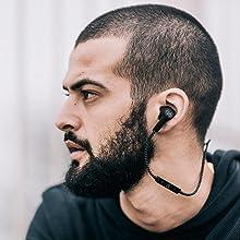 Écouteurs sport, écouteurs résistant à l'eau, Écouteurs intra-auriculaires sans fil