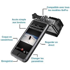 ETUI HOUSSE PROTECTION IPHONE GOPRO HERO 4