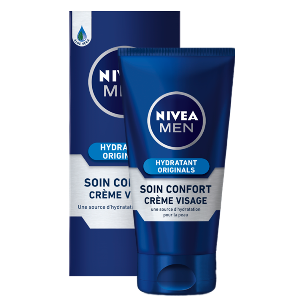 nivea men soin confort hydratant original 75 ml beaut et parfum. Black Bedroom Furniture Sets. Home Design Ideas