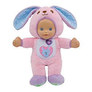 lapin, ours, girafe, bébés, déguisé, little love, jouet, vtech, musical, chansons, poupon, poupées
