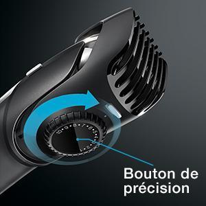 Braun BT5090 Tondeuse à Barbe avec Dents Espacées de 0,5 mm