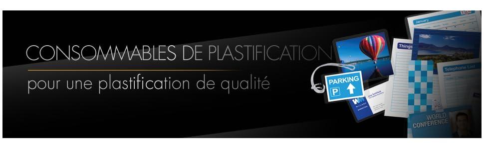 Fellowes 5397402 Pochettes De Plastification 125 Microns 60 X 90 Mm