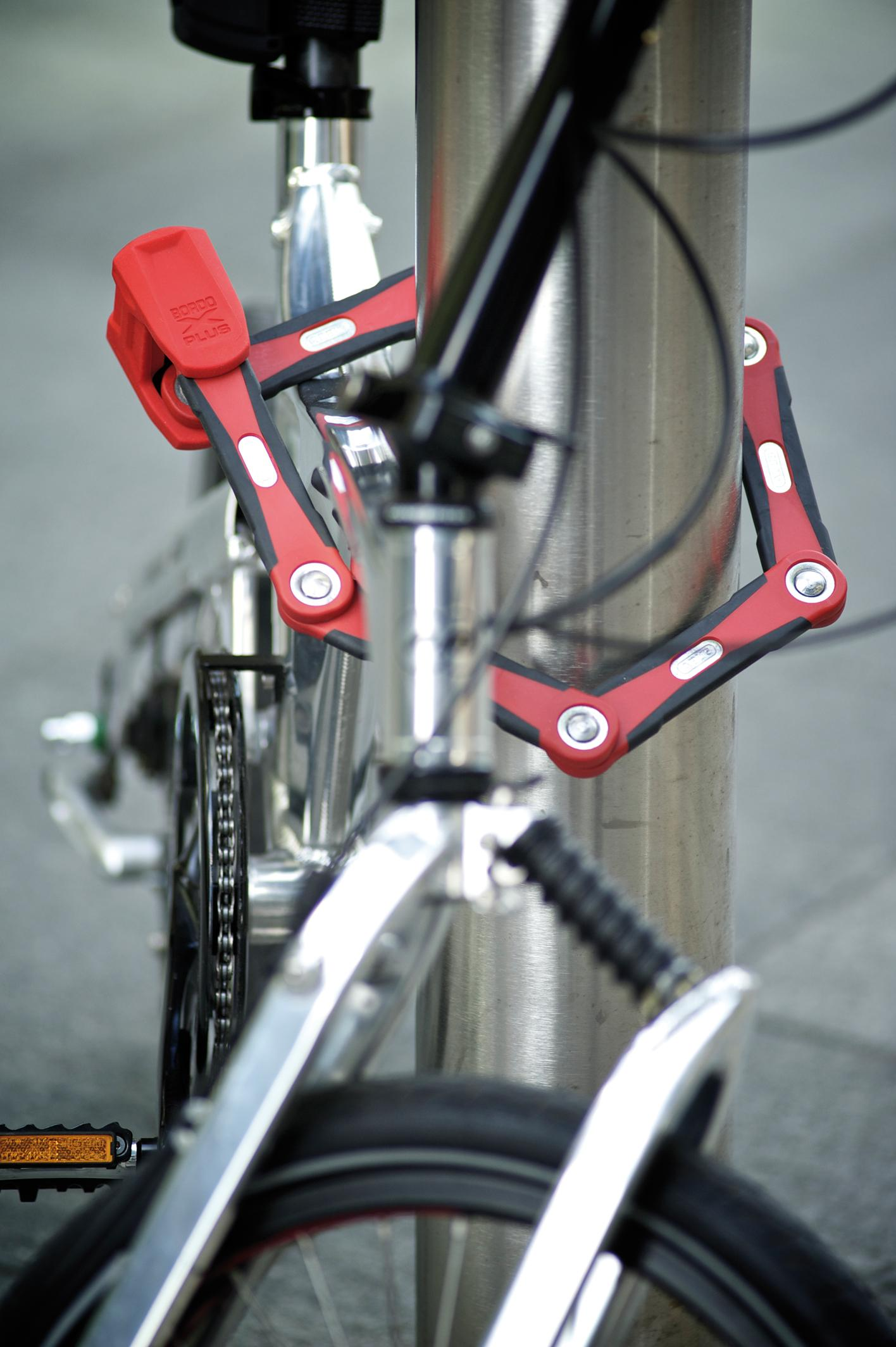 ABUS Bordo 6100//90 Combinaison Vélo Antivol pliable avec étui de transport