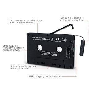 ion audio cassette adapter bluetooth r cepteur bluetooth. Black Bedroom Furniture Sets. Home Design Ideas