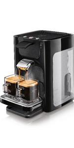 philips senseo viva caf hd7829 pod coffee machine 0 9l. Black Bedroom Furniture Sets. Home Design Ideas