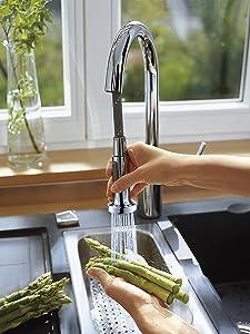 robinet cuisine, robinet évier, évier rénover, mitigeur cuisine, mitigeur professionnel cuisine