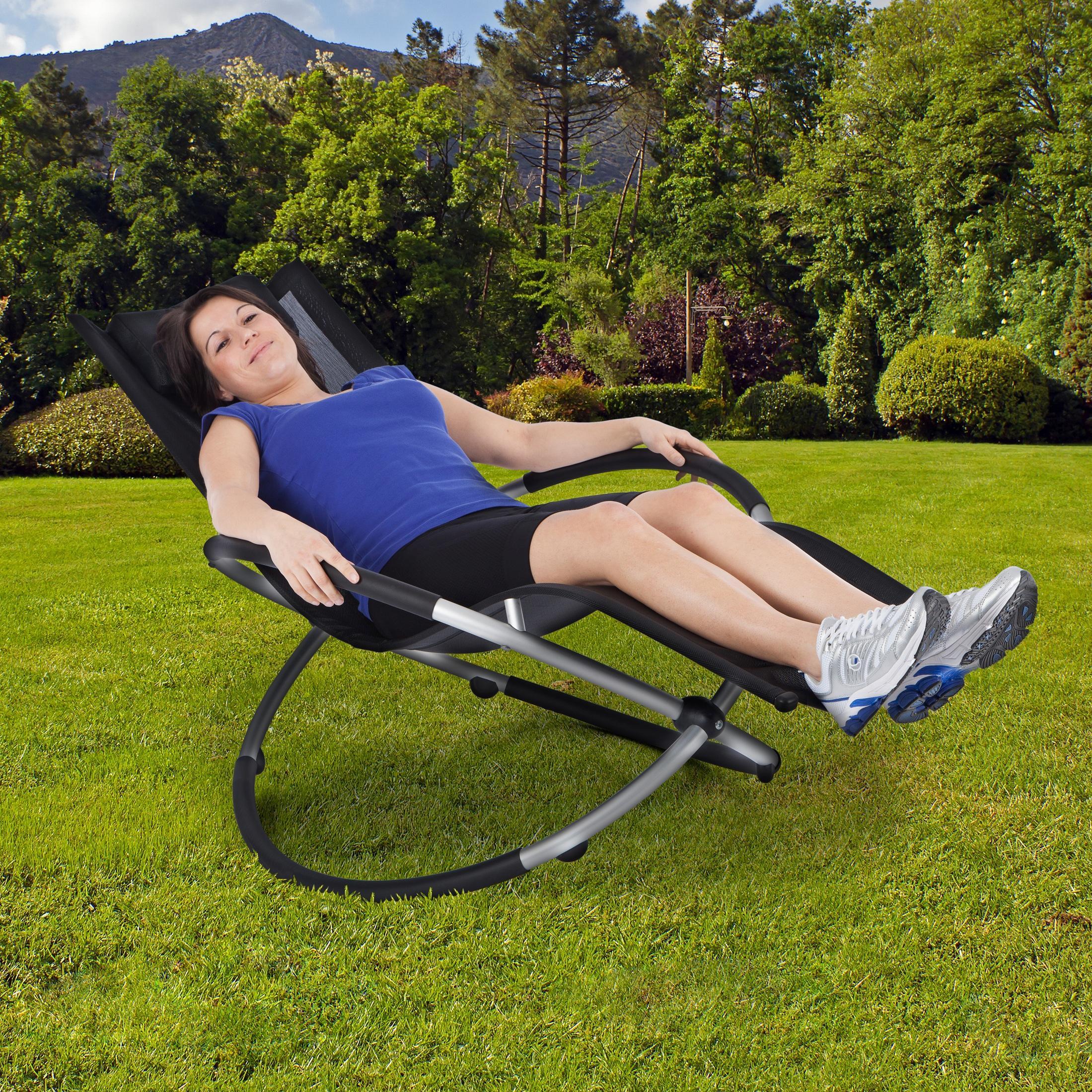 Ultranatura relax chaise longue de jardin en aluminium for Chaise longue jardin amazon