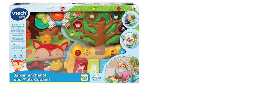 jardin, enchanté, petit copain, bébé, baby, vtech, tapis, piano, jouet, amusant, grandir, apprendre