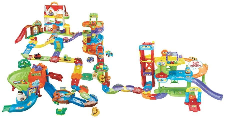 vtech 156905 tut tut bolides maxi circuit looping jeux et jouets. Black Bedroom Furniture Sets. Home Design Ideas