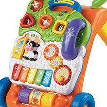 super, trotteur, parlant, 2en1, bébé, avance, marche, jouet, vtech, enfant, activité, educatif