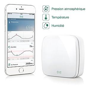 Elgato Eve Weather app