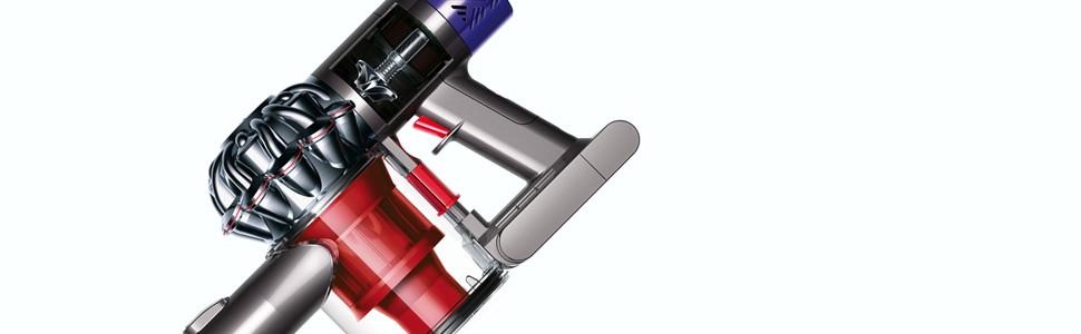 dyson v6 total clean aspirateur balai technologie 2 tier radial garantie 2 ans rouge m tal. Black Bedroom Furniture Sets. Home Design Ideas