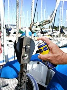 bateau, voilier, winch, tacet, boot, lubrifier, dégripper, entretien