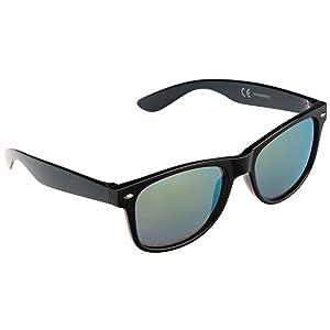 9408330228 Ultrasport Wave Lunettes de soleil Mixte Adulte, Blanc/Bleu, Taille ...