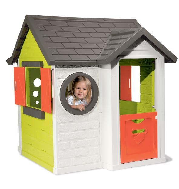 Smoby 310228 jeu de plein air maison my house for Maison jardin enfant occasion