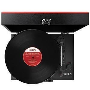 ion audio vinyl transport platine vinyle portable style malette avec enceintes int gr es. Black Bedroom Furniture Sets. Home Design Ideas