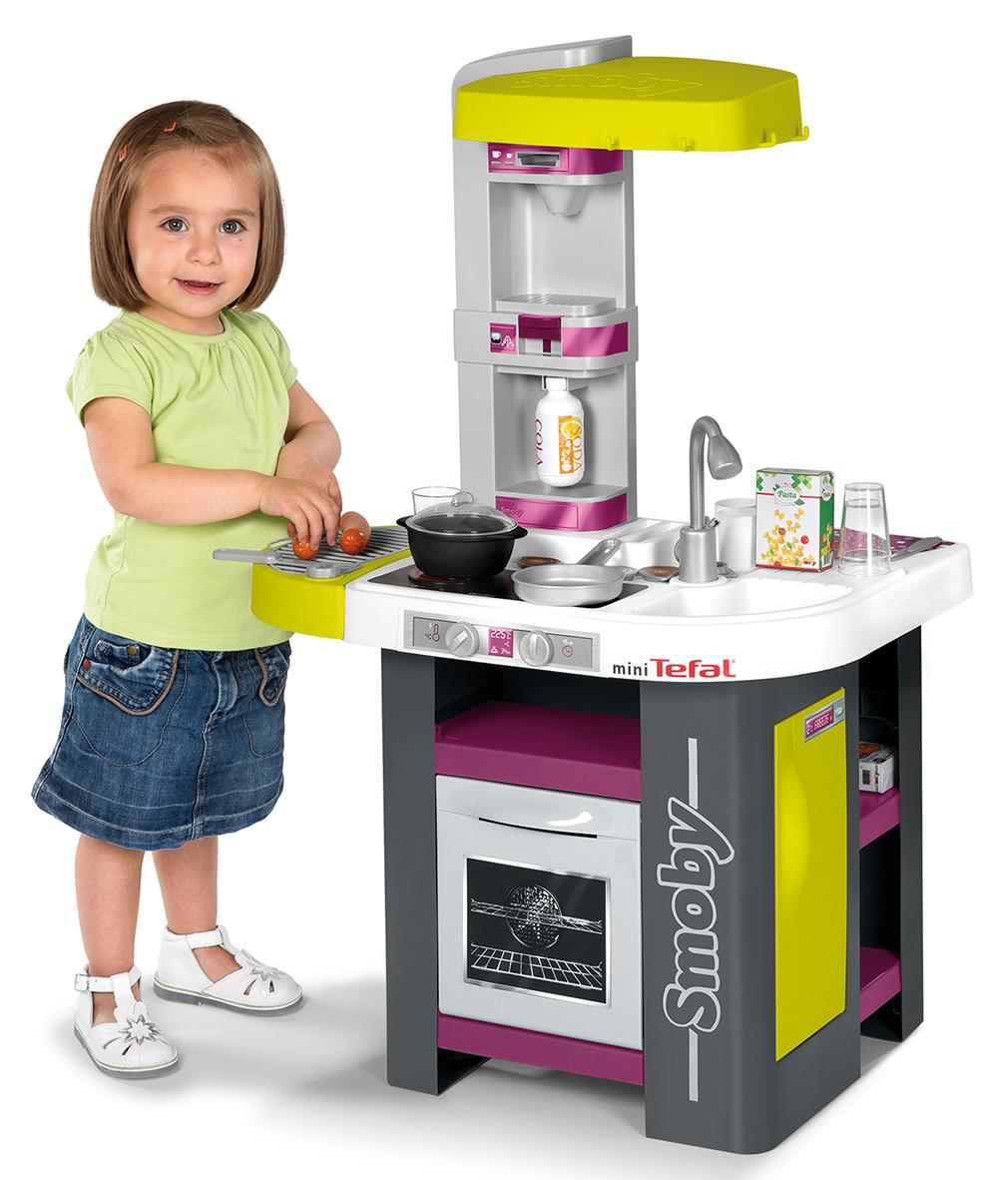 smoby 024128 jeu d 39 imitation tefal cuisine studio. Black Bedroom Furniture Sets. Home Design Ideas