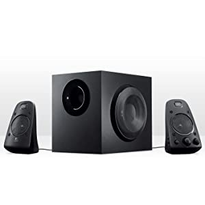 how to connect logitech z623 speakers to tv