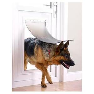 PetSafe Très Grande Chatière Staywell En Aluminium Pour Chien XL - Porte pour chien