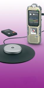 dictaphone enregistreur réunions magnetophone