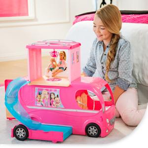 Camping Car Duplex Barbie Le Moins Cher