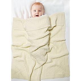 couverture tricot pure laine mérinos, couverture tricotée