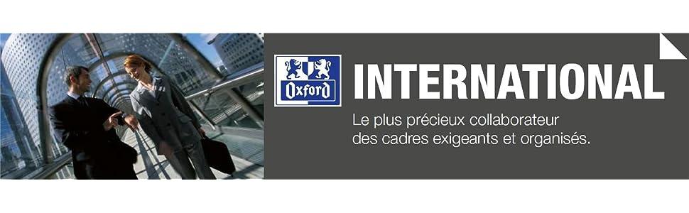 OXFORD CADRE MANAGER PROJET INTERNATIONAL FRANCE ORGANISATION QU