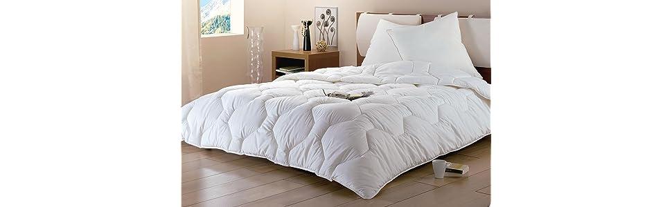 dodo proneem couette 220 x 240 cm chaude synth tique anti acariens cuisine maison. Black Bedroom Furniture Sets. Home Design Ideas