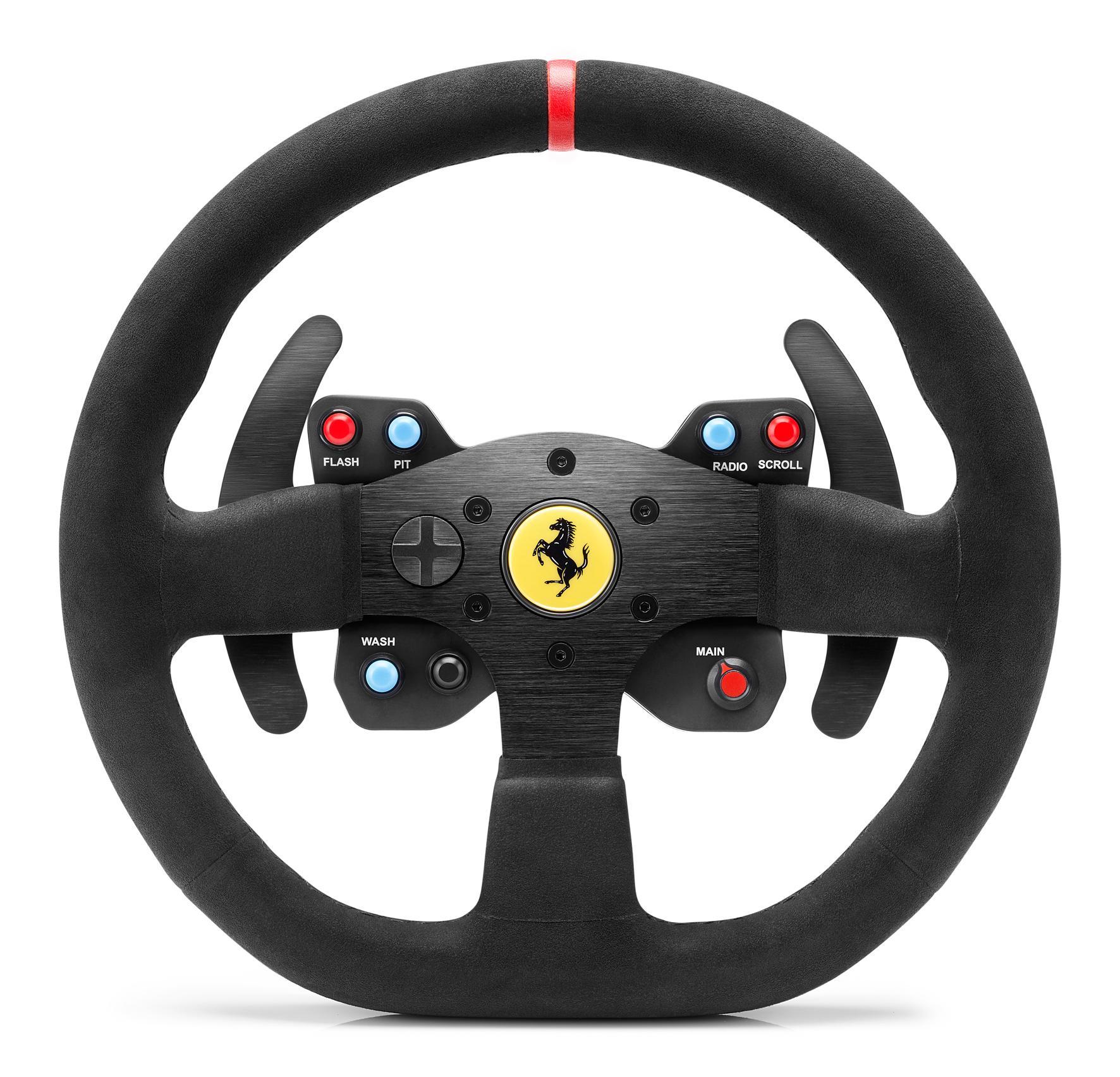 thrustmaster volant t300 ferrari integral racing wheel alcantara edition r plique de la. Black Bedroom Furniture Sets. Home Design Ideas