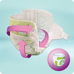Pampers Premium Protection Active Fit Couches