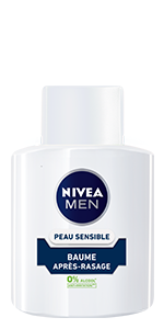 baume après-rasage peau sensible nivea men