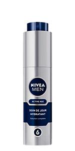 soin de jour hydratant active age nivea men
