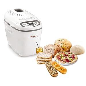 Moulinex ow610110 machine pain baguettes plastique blanc gris 28 5 x 45 x 33 5 cm - Machine a pain boulanger ...