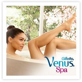 Venus Gillette Spa Breeze Pack de 4 Lames de Rasoir