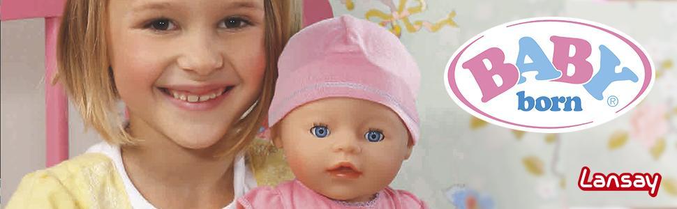 lansay 23455 poup e baby born interactif jeux et jouets. Black Bedroom Furniture Sets. Home Design Ideas