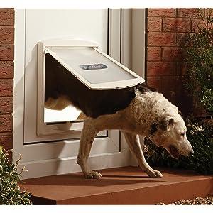 Petsafe grande porte pour animaux d 39 origine staywell l - Trappe de porte pour chien ...