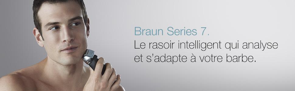 BRAUN Technologie Wet&Dry Rasoir Électrique Noir Premium