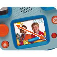 kidizoom, appareil photo, videos, jeux, trucages, vtech, educatif, stop motion, grand ecran, 2mpixel