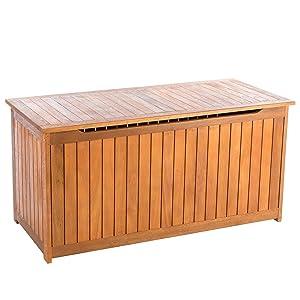 Ultranatura coffre de rangement v rin gaz gamme canberra l gant bois - Coffre a bois interieur ...