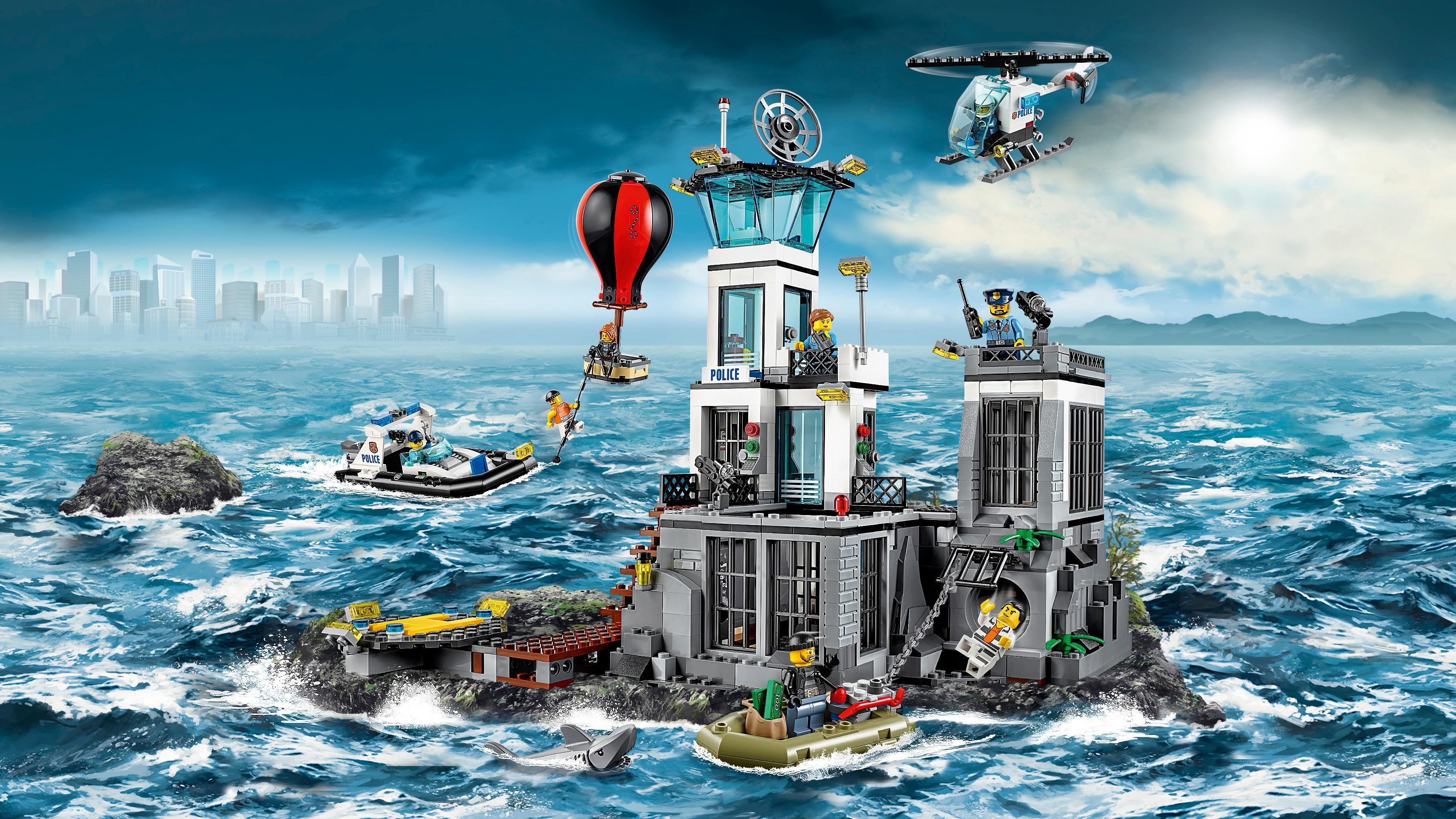 LEGO - 60130 - City - Jeu de construction - La Prison en