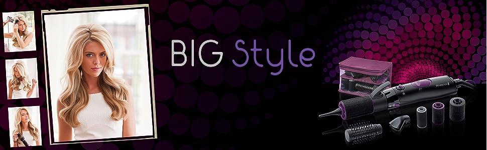 remington brosse souflane bigoudis big style 800w vanity hygi ne et soins du corps. Black Bedroom Furniture Sets. Home Design Ideas