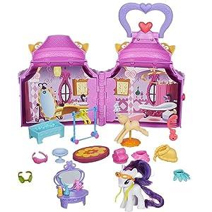 my little pony a8213eu60 mini poup e rainbow ch teau. Black Bedroom Furniture Sets. Home Design Ideas