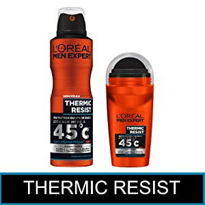 men expert déodorant homme bille spray anti odeur anti transpirant thermic resist