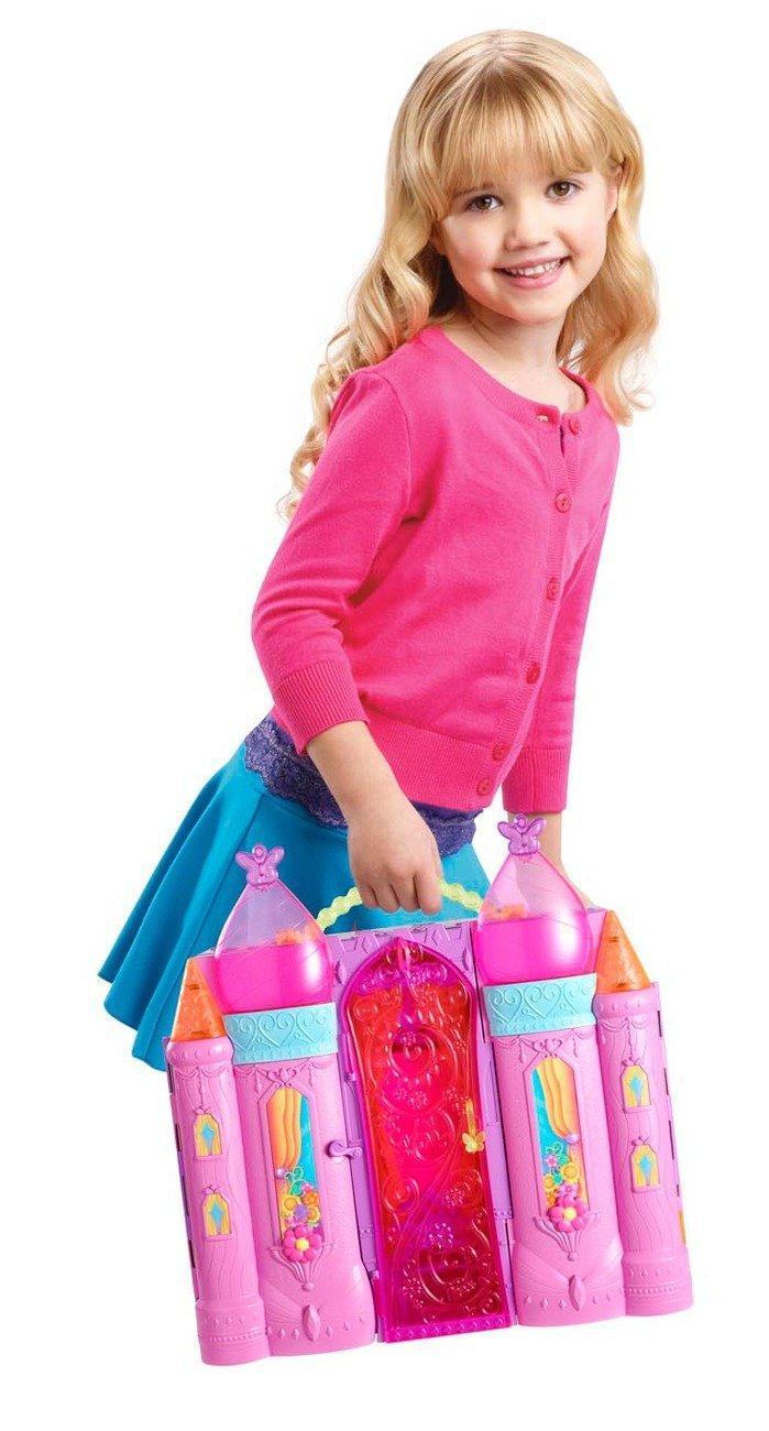 Barbie blp41 poup e le ch teau magique barbie jeux et jouets - Barbie sirene magique ...