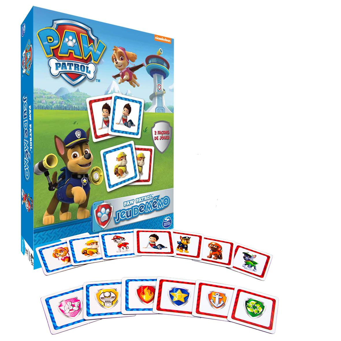 paw patrol 6026134 memo la pat patrouille fr jeux et jouets