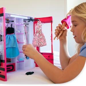 barbie dmt57 dressing jeux et jouets. Black Bedroom Furniture Sets. Home Design Ideas