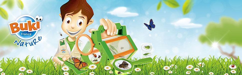 Attrape, observe et découvre les insectes de ton jardin !