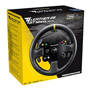 Thrustmaster - TM Leather 28 GT Wheel Add-On - Volant cuir