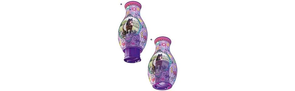 assemble le fond du vase puzzle girly Girl chevaux